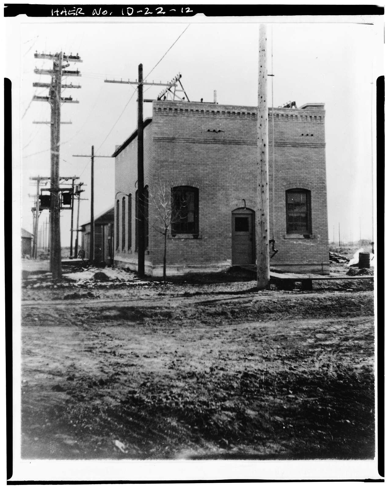 Bonneville Power Administration Burley Substation, 1221 Albion Avenue, Burley, Cassia County, ID