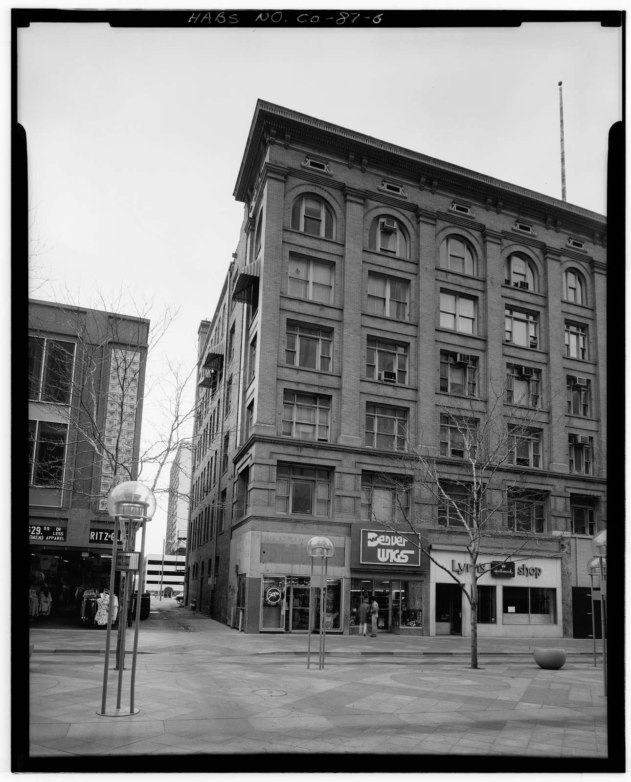 Empire Building, 430 Sixteenth Street, South Corner of Sixteenth Street & Glenarm Place, Denver, Denver County, CO