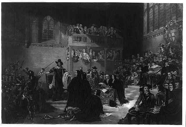 Trial of King Charles 1st in Westminster hall 1649