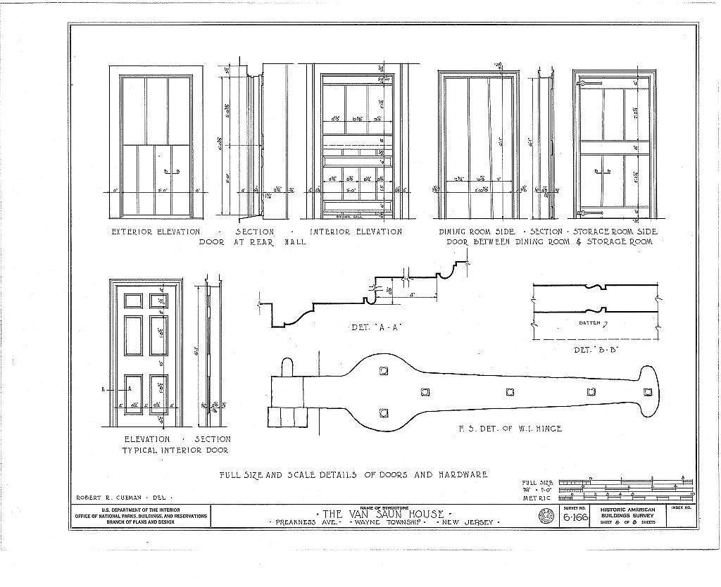 Van Saun House, Preakness Avenue & Singac Brook, Preakness, Passaic County, NJ