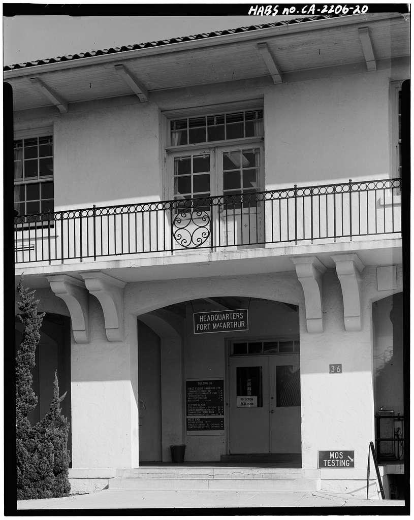 Fort MacArthur, Pacific Avenue, San Pedro, Los Angeles County, CA