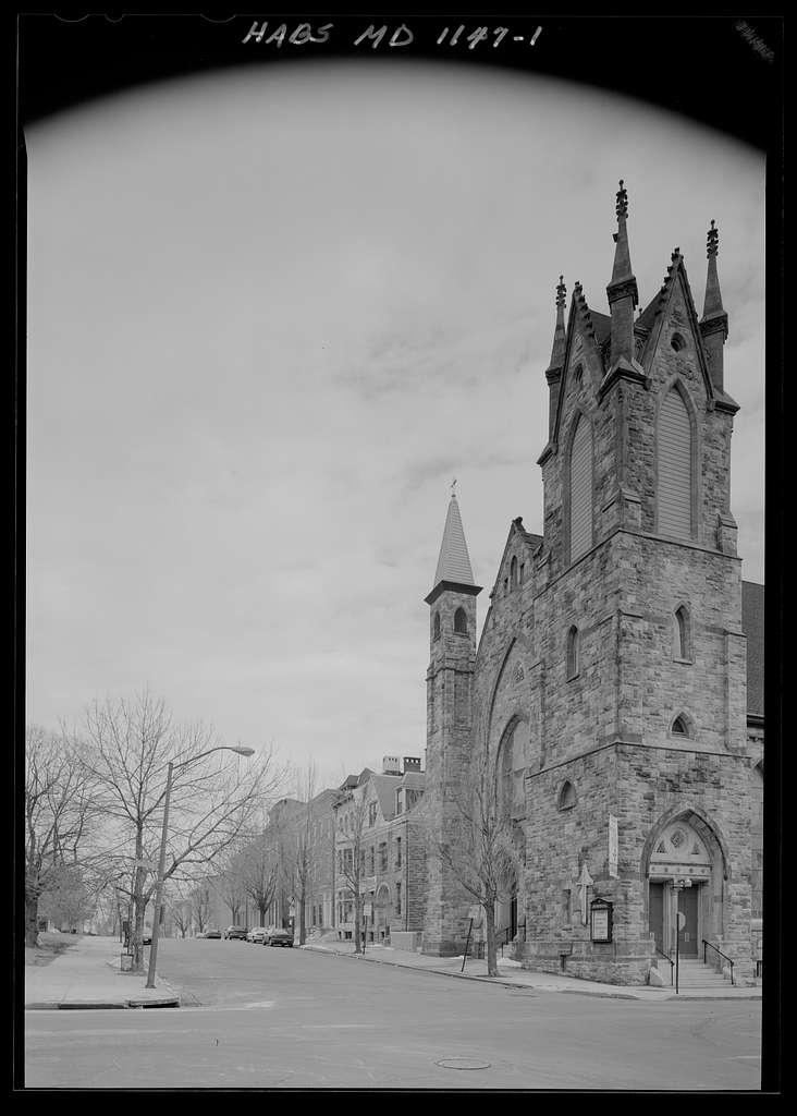 Grace Methodist Episcopal Church, Lanvale & Carrollton Streets, Baltimore, Independent City, MD
