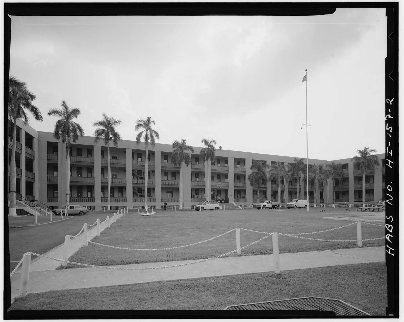U.S. Naval Base, Pearl Harbor, Bachelor Enlisted Quarters, Cromwell Circle, Pearl City, Honolulu County, HI