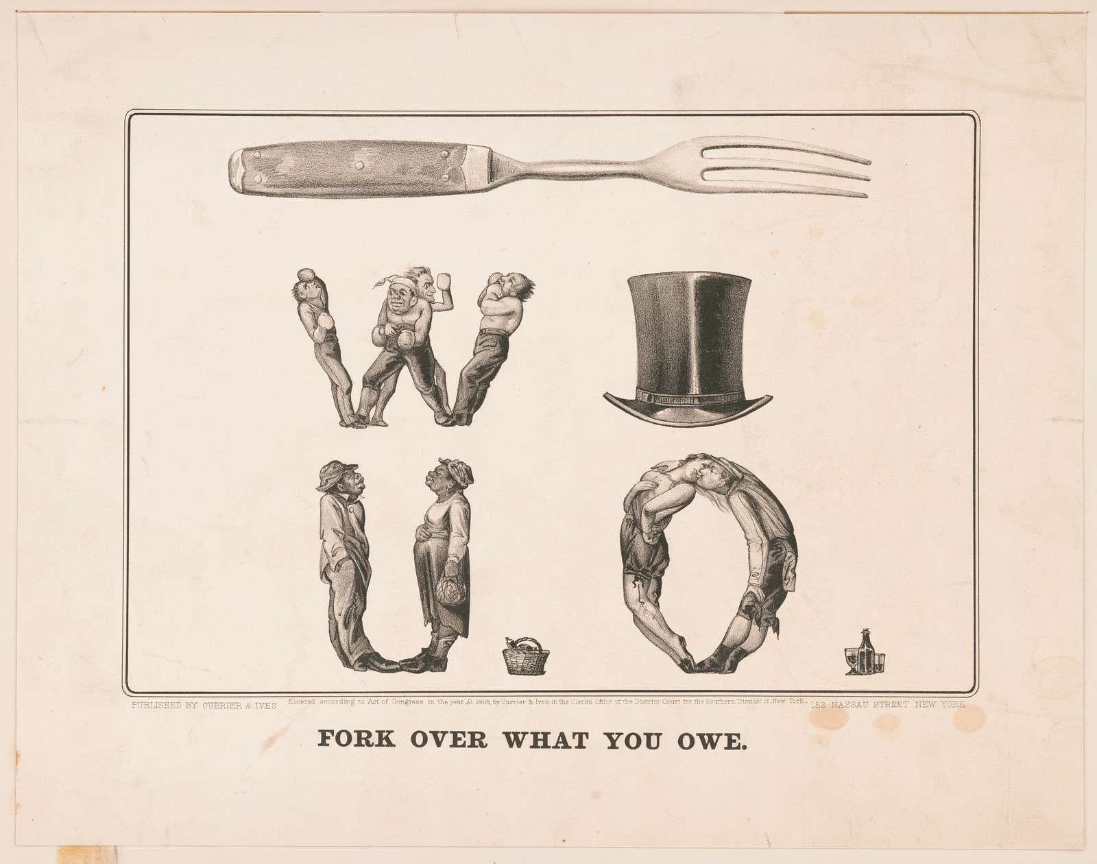 Fork over what you owe