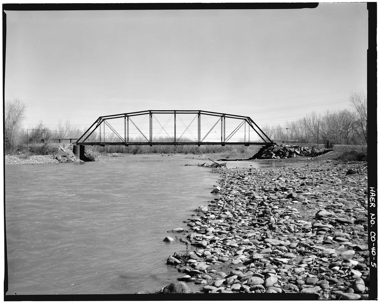 Hotchkiss Bridge, Spanning North Fork River on County Road 3400, Hotchkiss, Delta County, CO