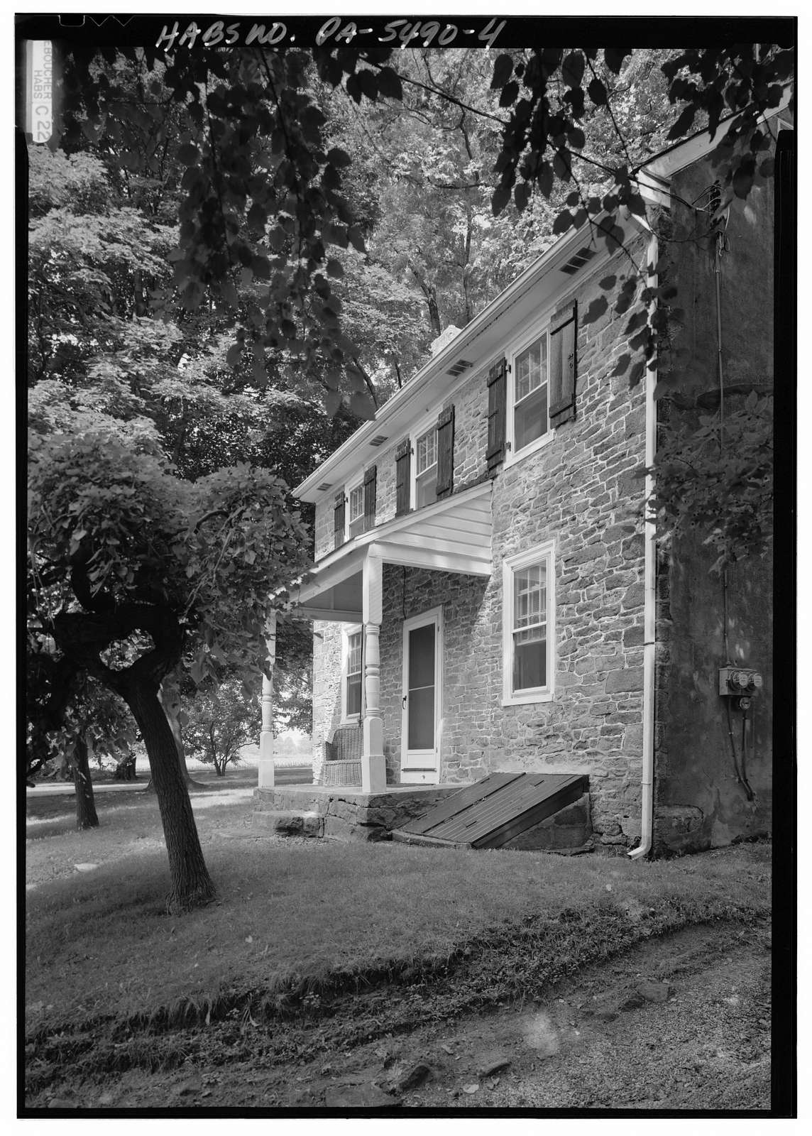 Miller's House, Dead end Tollgate Road, Core Creek Park (Middletown Township), Langhorne, Bucks County, PA