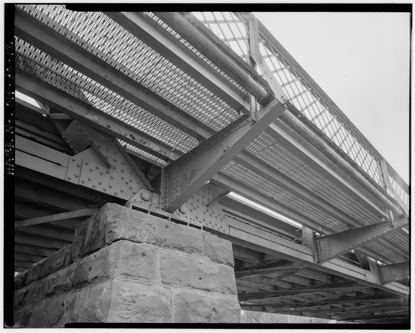 Cherry Street Bridge, Spanning Tuscarawas River, Canal Fulton, Stark County, OH