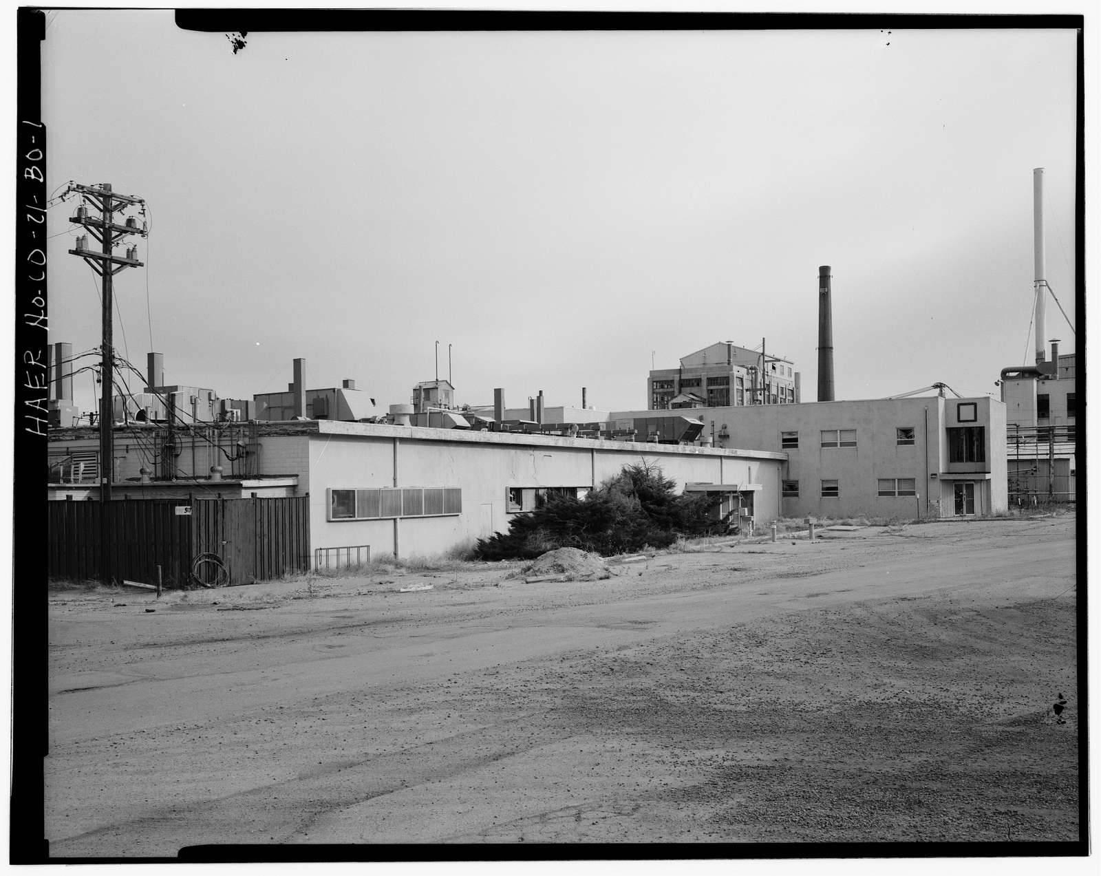 Rocky Mountain Arsenal, Lewisite & Distilled Mustard Change House-Laboratory, 620 feet South of December Seventh Avenue; 820 feet East of D Street, Commerce City, Adams County, CO