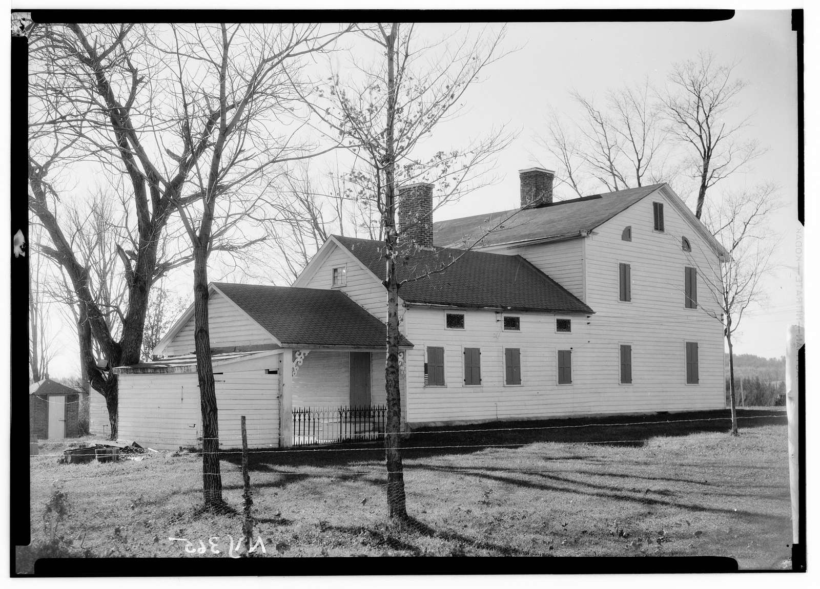 Rice Homestead, Route 30, Mayfield, Fulton County, NY