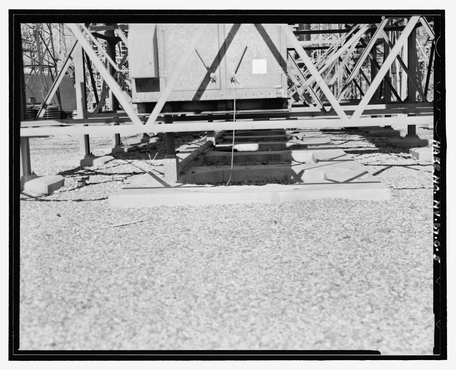 Hoover Dam, Metropolitan Water District Switchyard, U.S. Highway 93, Boulder City, Clark County, NV