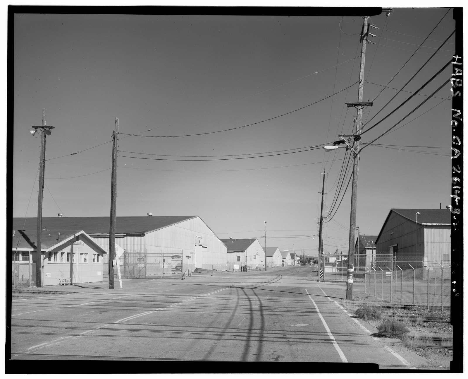 Oakland Naval Supply Center, Maritime Street at Seventh Street, Oakland, Alameda County, CA
