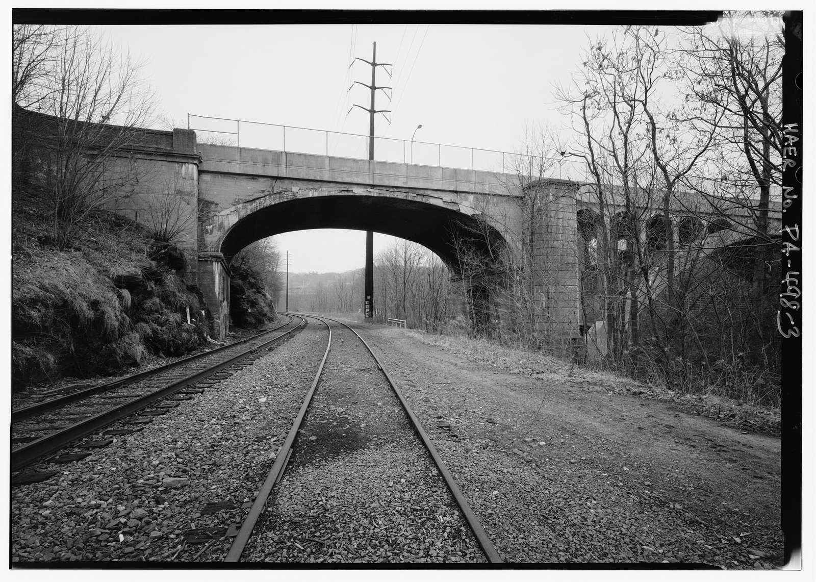 Harrison Avenue Bridge, Spanning Roaring Brook & Central Scranton Expressway (State Route 3022) at Harrison Avenue (State Route 6011), Scranton, Lackawanna County, PA