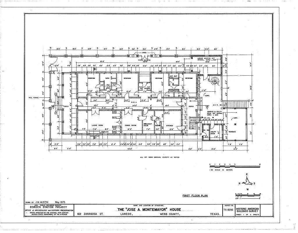 Jose A. Montemayor House, 601 Zaragosa Street, Laredo, Webb County, TX