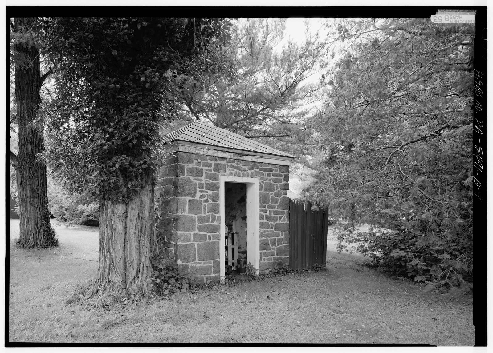 Naylor House, North Outbuilding, Swift & Silver Lake Roads, Langhorne, Bucks County, PA
