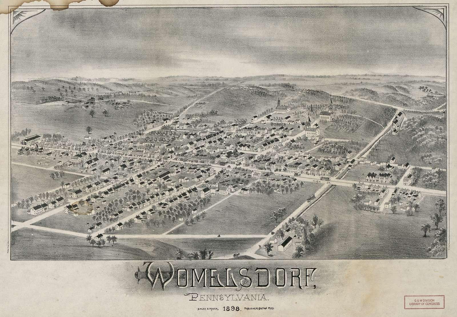 Womelsdorf, Pennsylvania.
