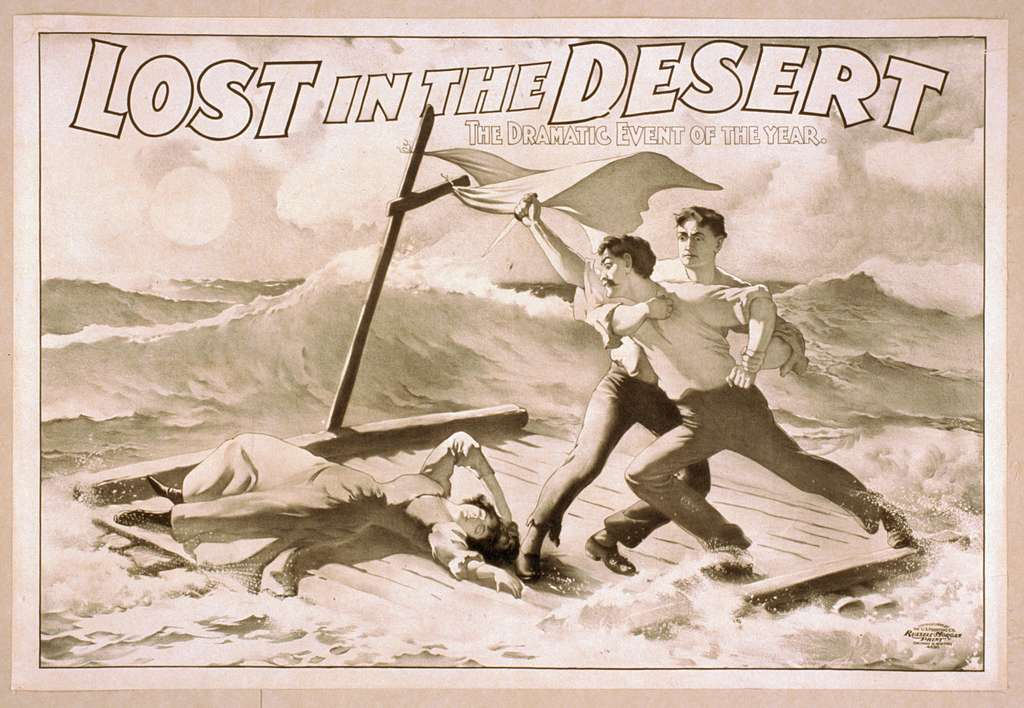 Lost in the desert the dramatic event of the year.
