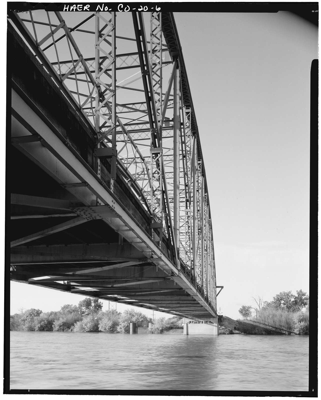 Manzanola Bridge, State Highway 207, spanning Arkansas River, Manzanola, Otero County, CO