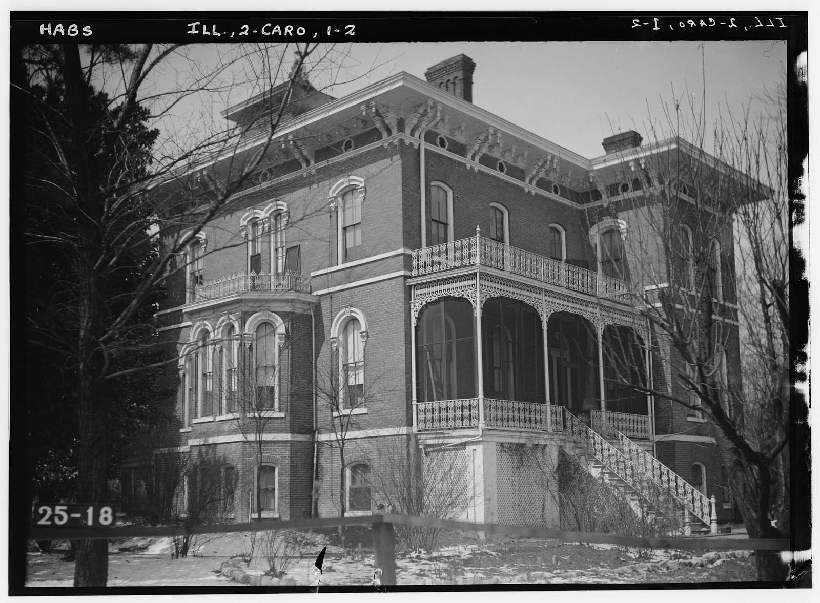 Peter T. Langan House, Cairo, Alexander County, IL