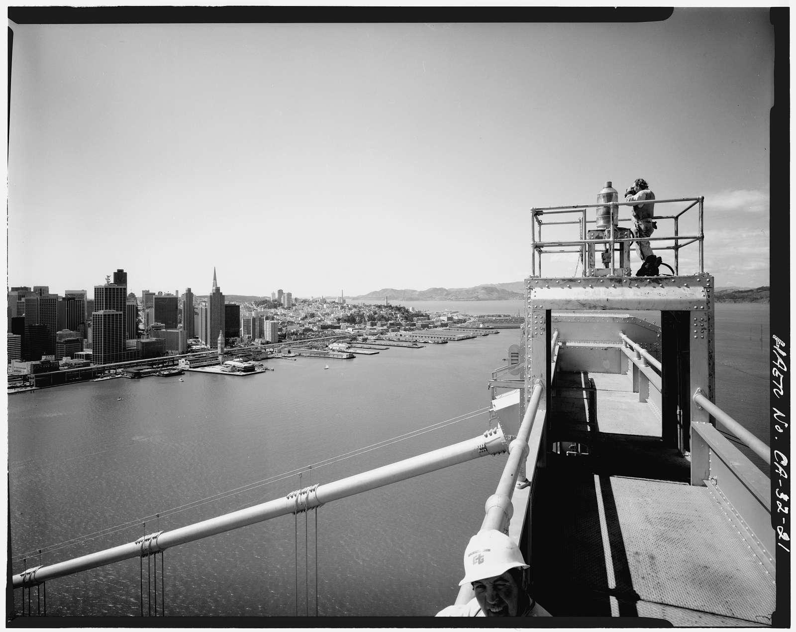 San Francisco Oakland Bay Bridge, Spanning San Francisco Bay, San Francisco, San Francisco County, CA
