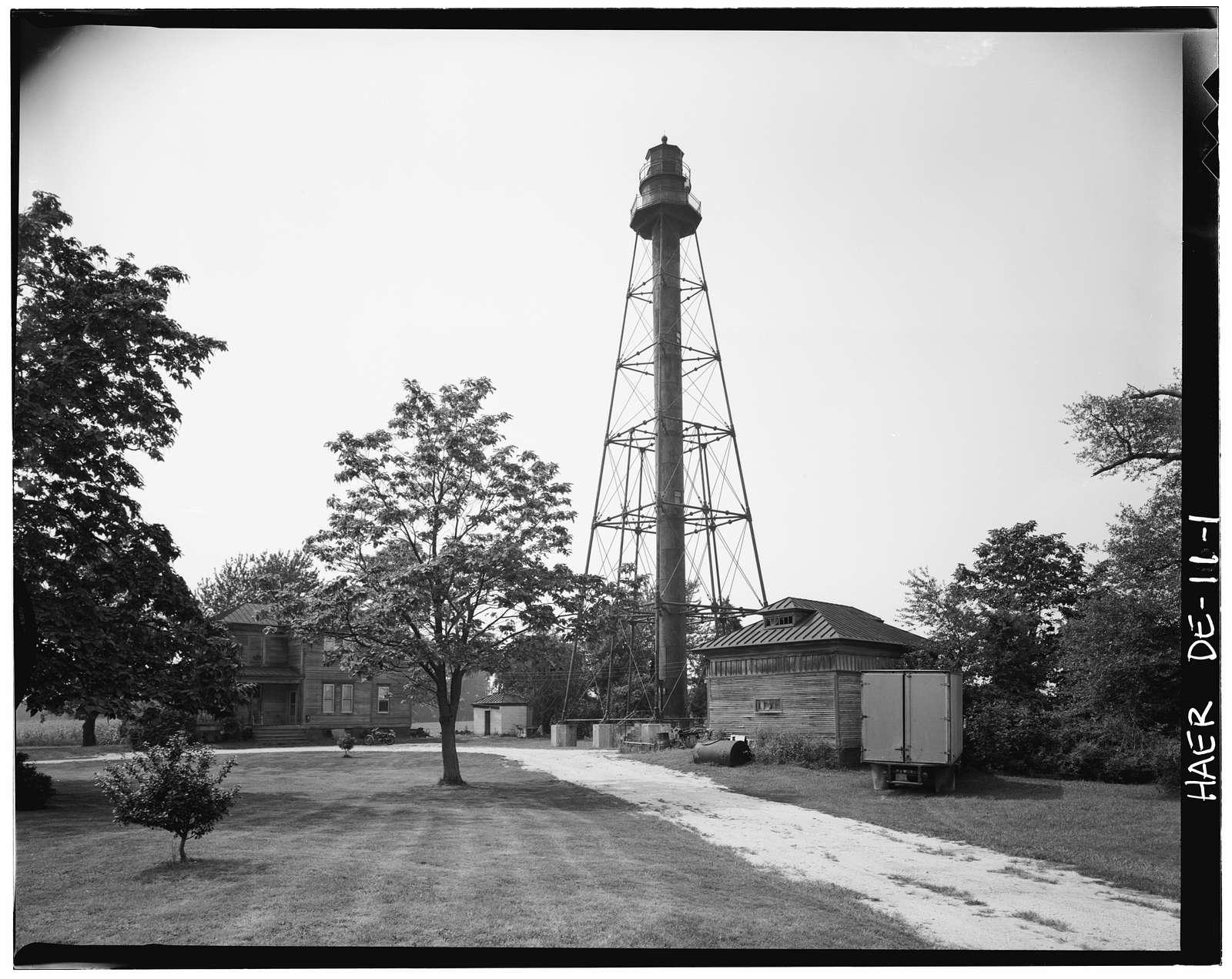 Reedy Island Range Rear Light, Route 9, Taylors Corner, New Castle County, DE