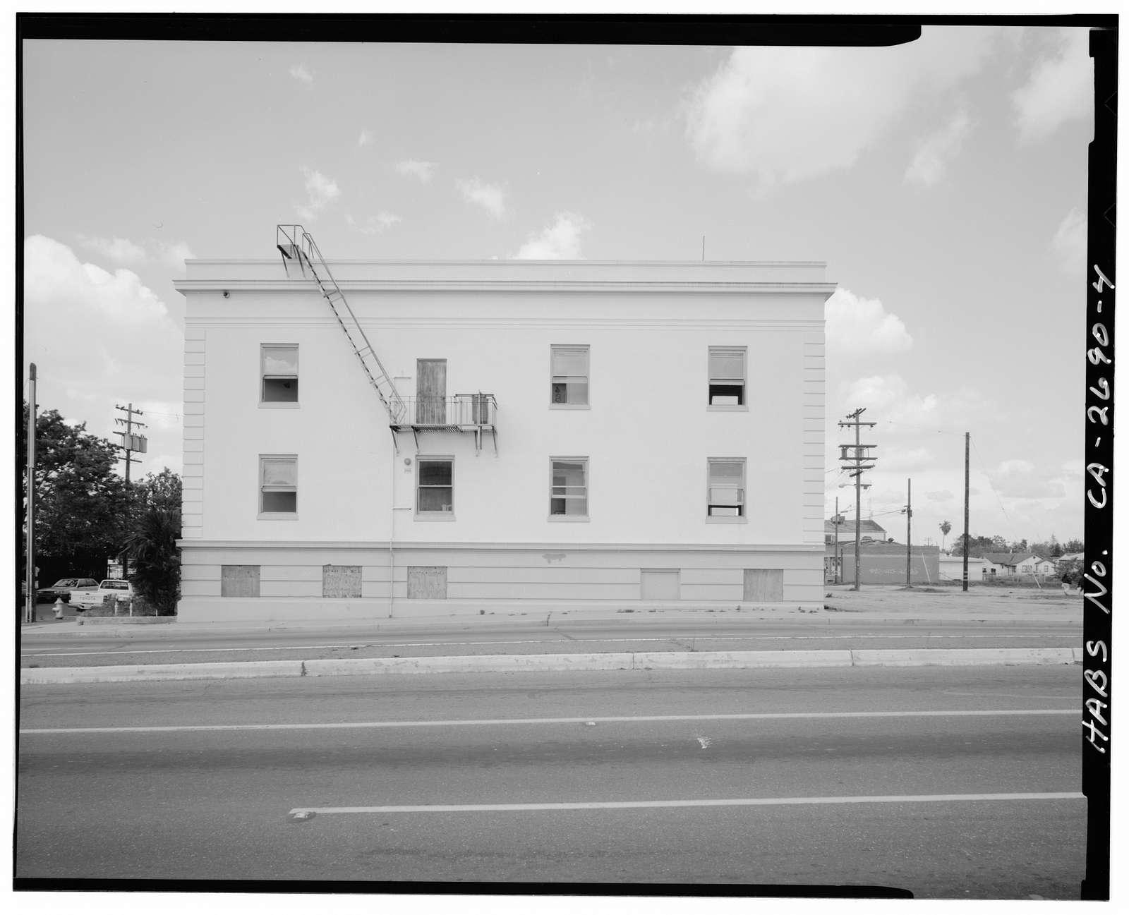 Burnett Nurse's Home, 120 North Howard Street, Fresno, Fresno County, CA