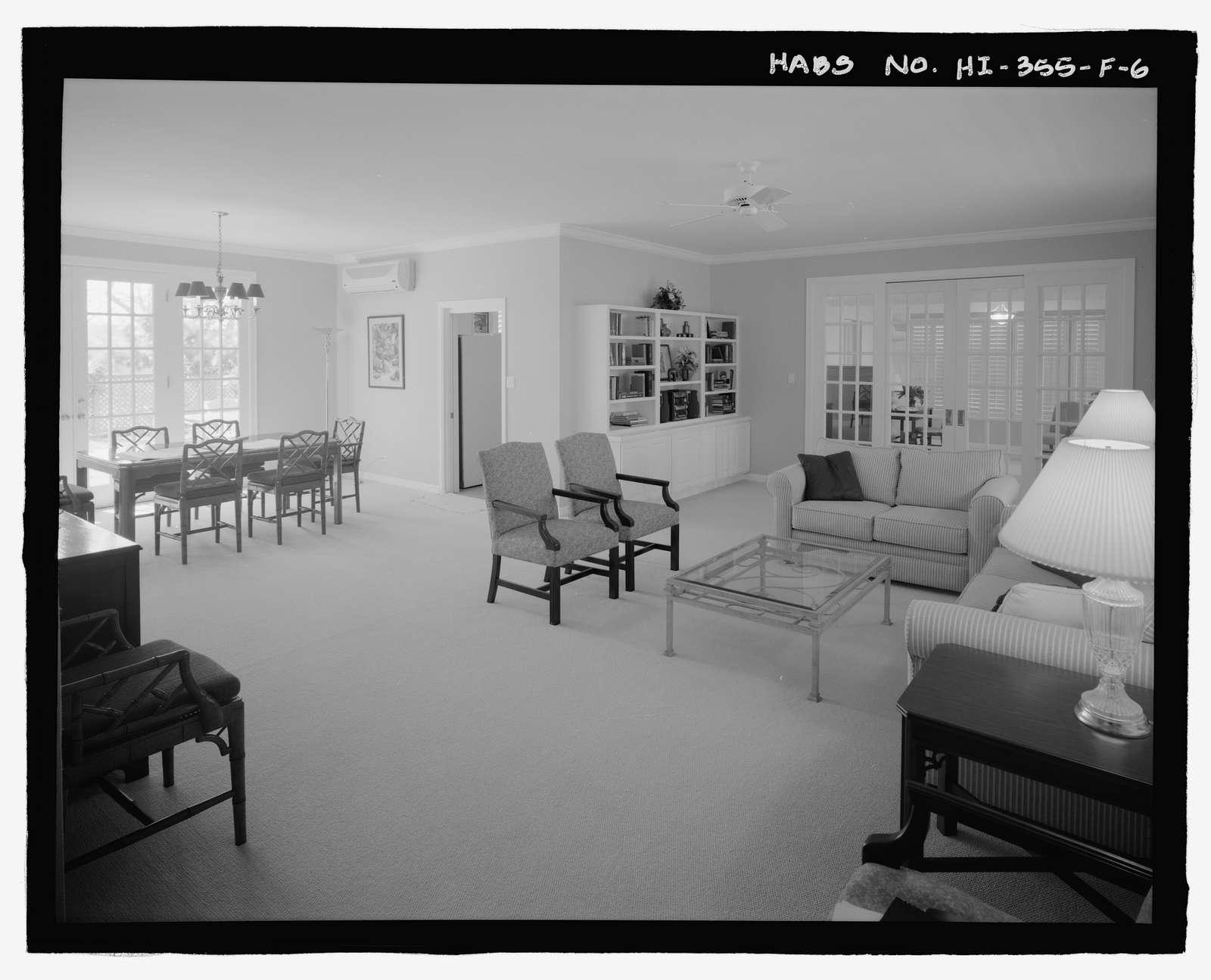 U.S. Naval Base, Pearl Harbor, Naval Housing Area Makalapa, Staff Officers' Mess, 41 Makalapa Drive, Pearl City, Honolulu County, HI