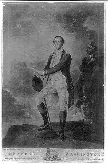 General Washington / painted by J. Trumbull Esqr. of Connecticut 1780 ; engraved by V. Green mezzotinto engraver to his Majesty & to the Elector Palatine.
