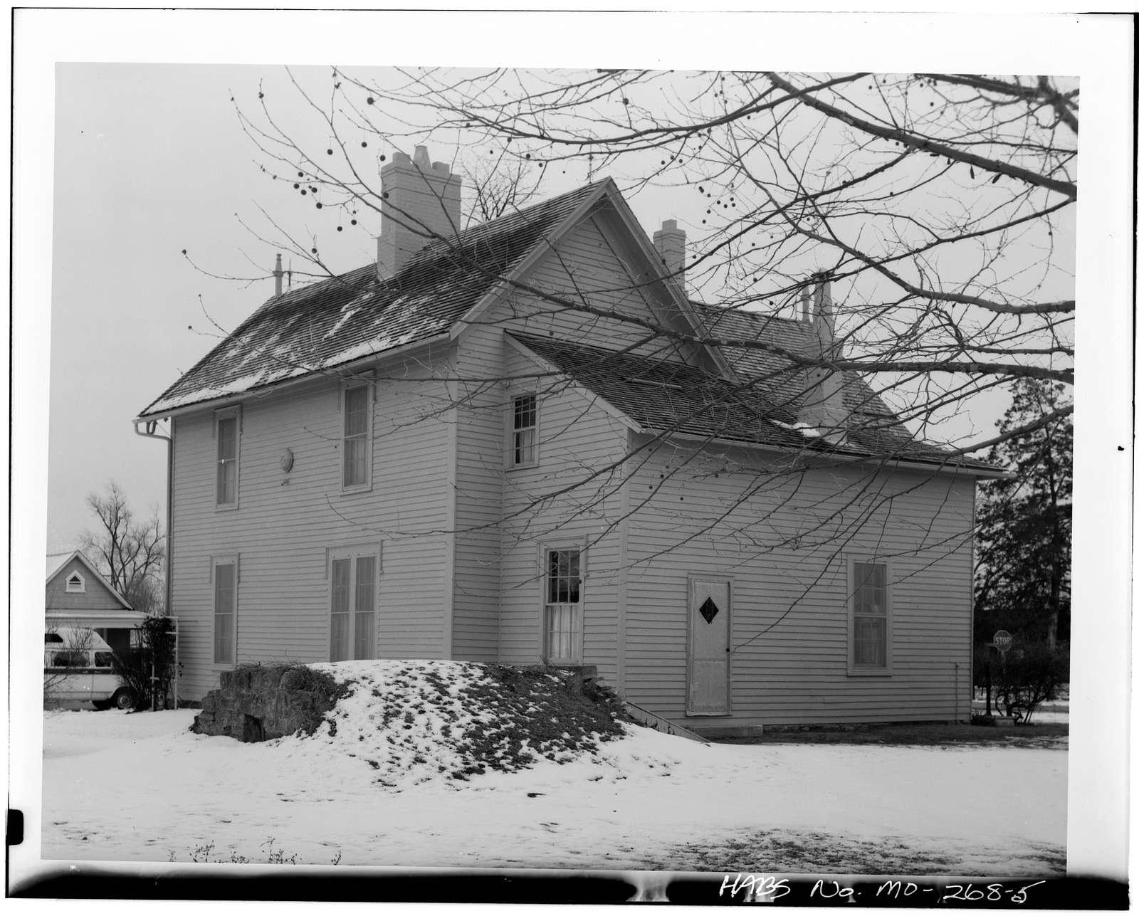 General John J. Pershing Boyhood Home, State & Worlow Streets, Laclede, Linn County, MO