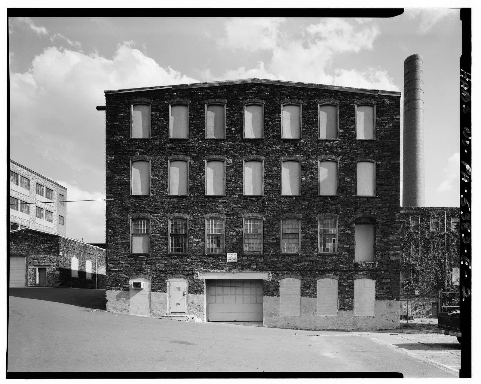 John & James Dobson Carpet Mill (West Parcel), Building No. 5, 4041-4055 Ridge Avenue, Philadelphia, Philadelphia County, PA