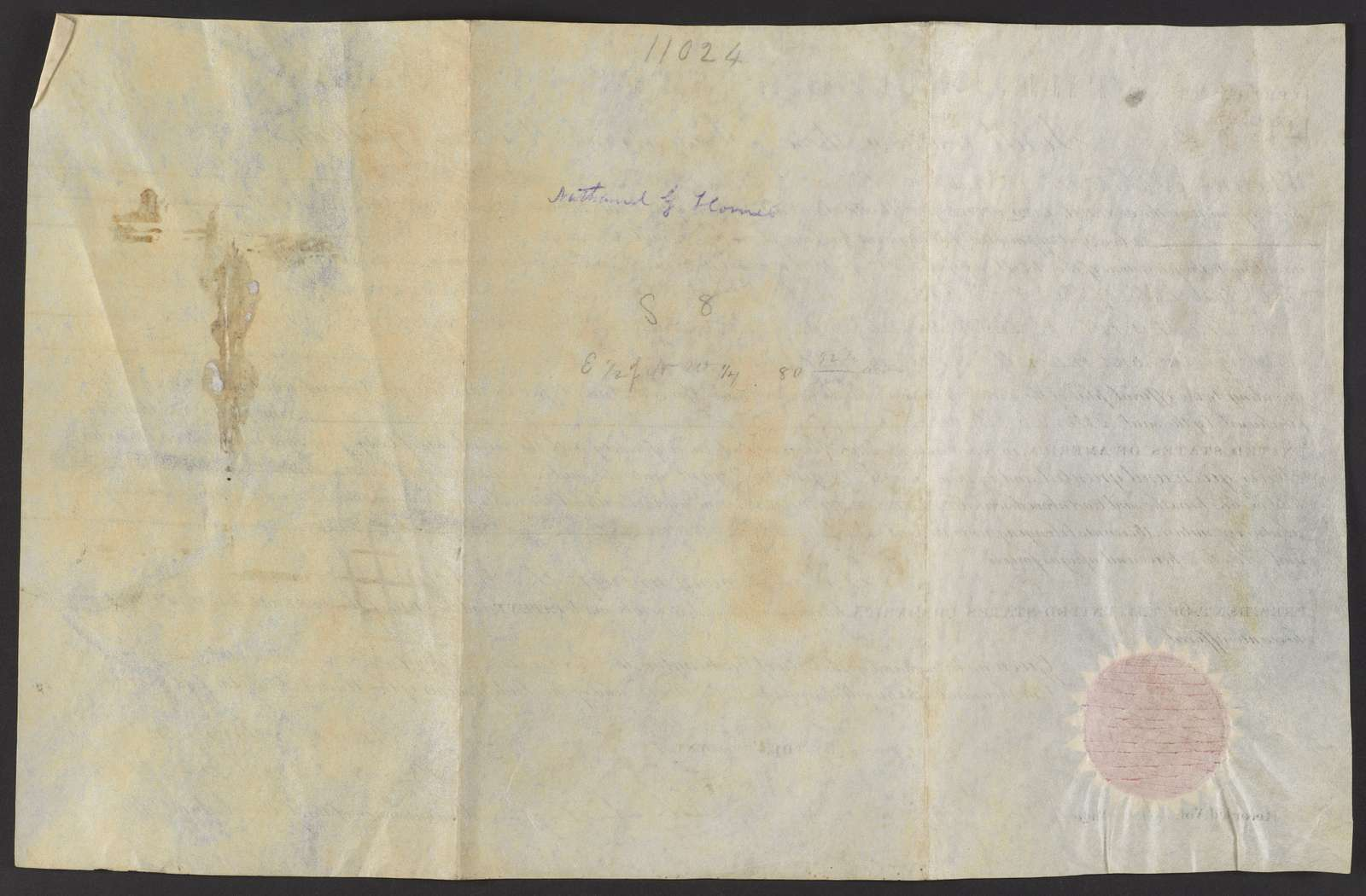 Deeds for land in Alabama, 1833-1834
