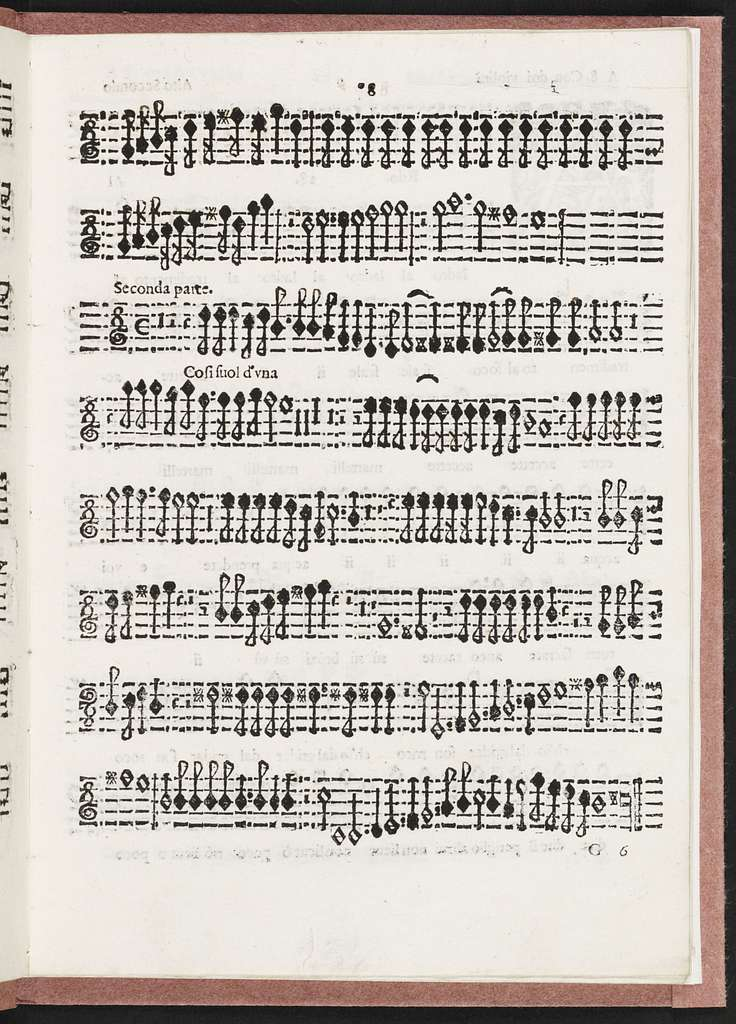 Madrigali gverrieri, et amorosi con alcuni opuscoli in genere rappresentatiuo, che saranno per breui episodij frà i canti senza gesto, libro ottavo