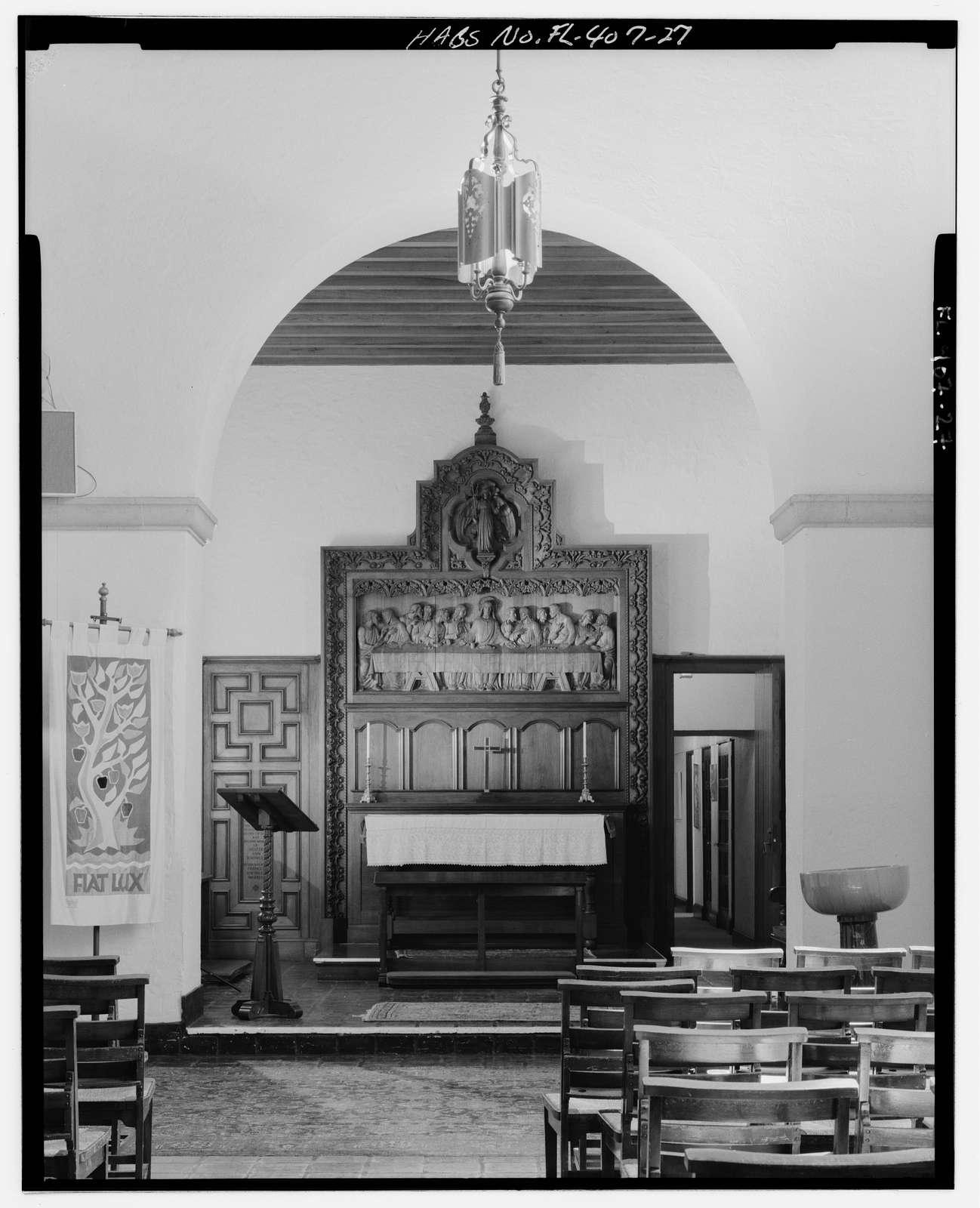 Knowles Memorial Chapel, 1100 Holt Avenue, Winter Park, Orange County, FL