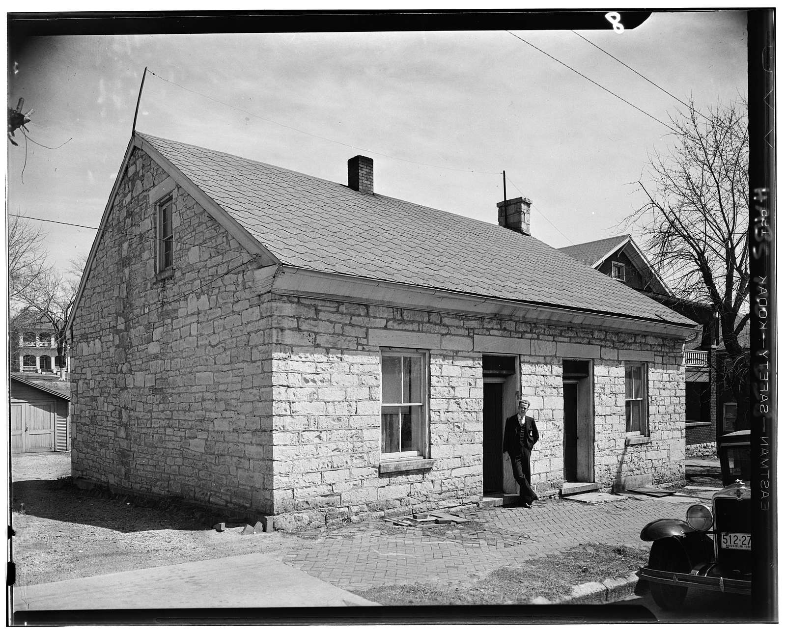 Stone House, Main Street, Jefferson City, Cole County, MO