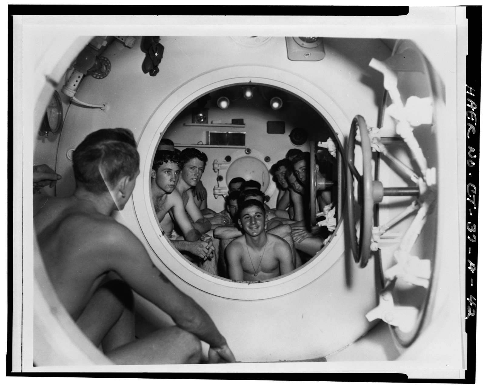 U.S. Naval Submarine Base, New London Submarine Escape Training Tank, Albacore & Darter Roads, Groton, New London County, CT