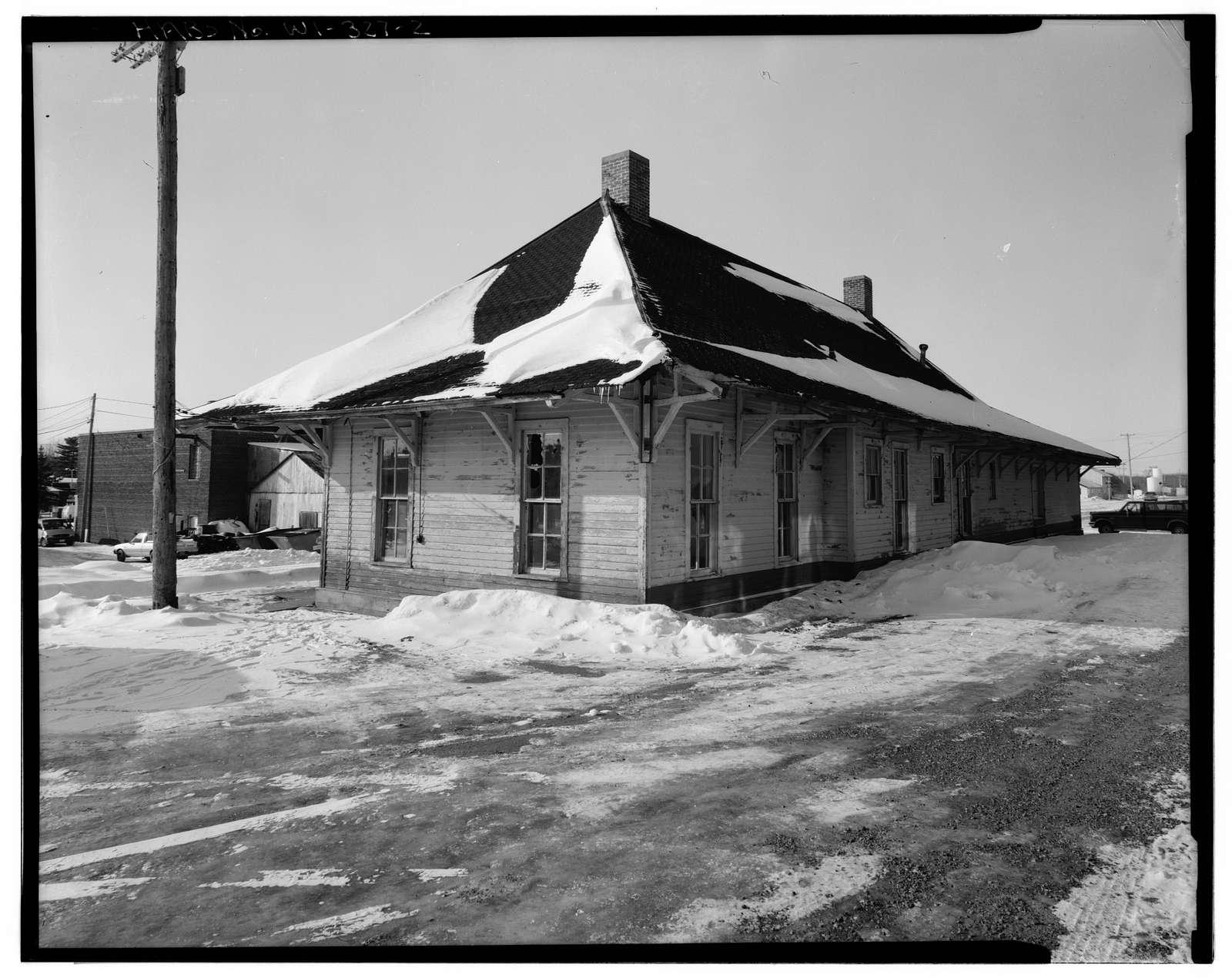 Medford Soo Line Depot, 109 West State Street, Medford, Taylor County, WI