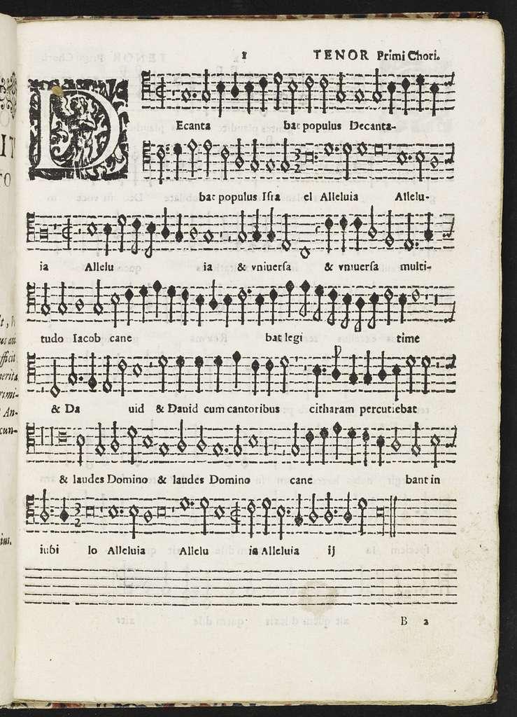 Motectorum octonis vocibus Benedicti Bagni ... , unà cum basso generali pro organo, liber primus nunc primùm in lucem aeditus