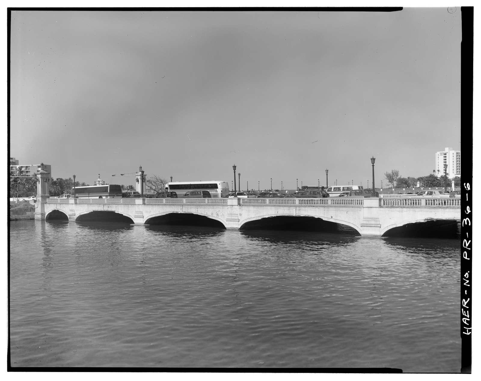 Puente Guillermo Esteves, Spanning San Antonio Channel at PR-25 (Juan Ponce de Leon Avenue), San Juan, San Juan Municipio, PR