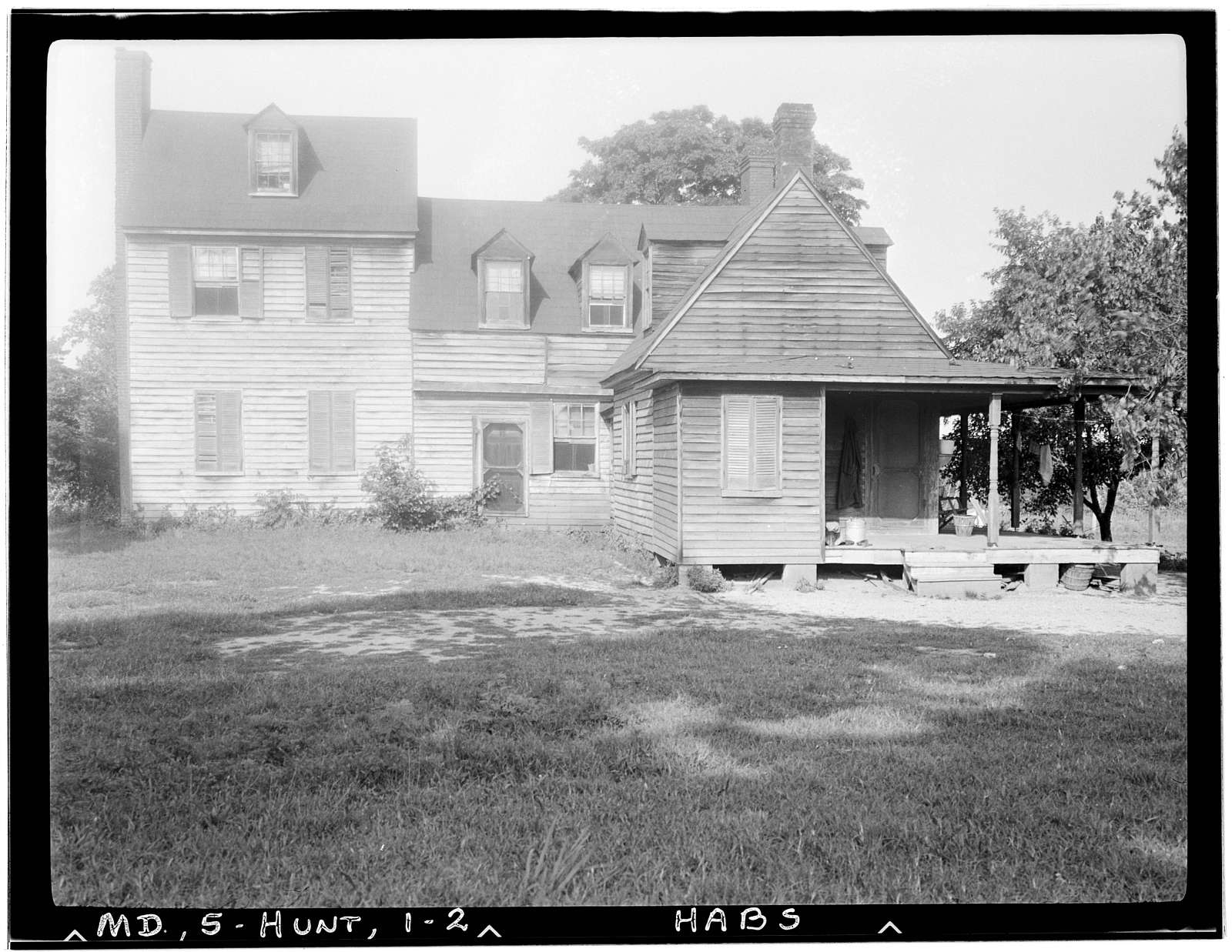John Stanforth House, Lowery Road vicinity, Huntingtown, Calvert County, MD