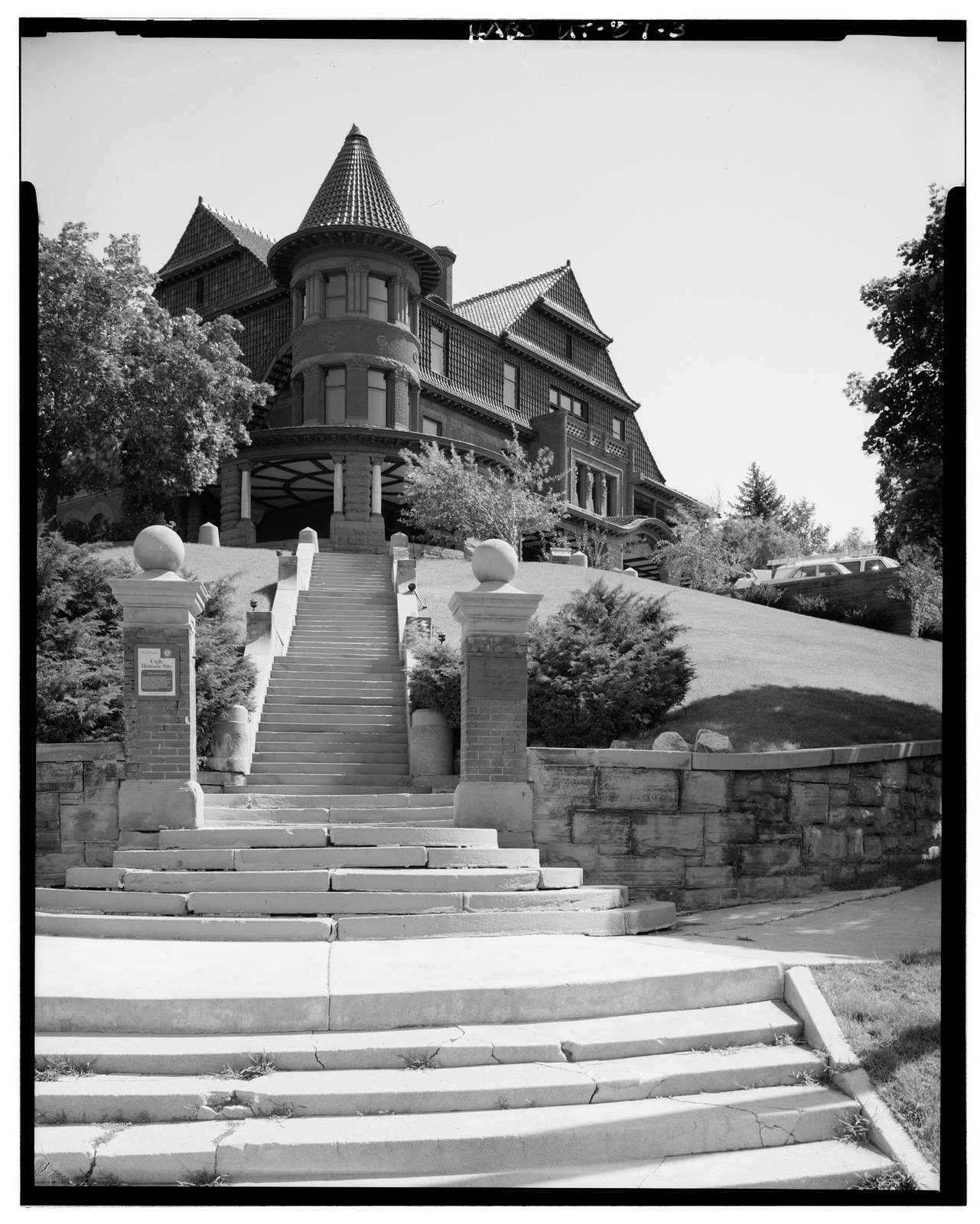 Alfred W. McCune House, 200 North Main Street, Salt Lake City, Salt Lake County, UT