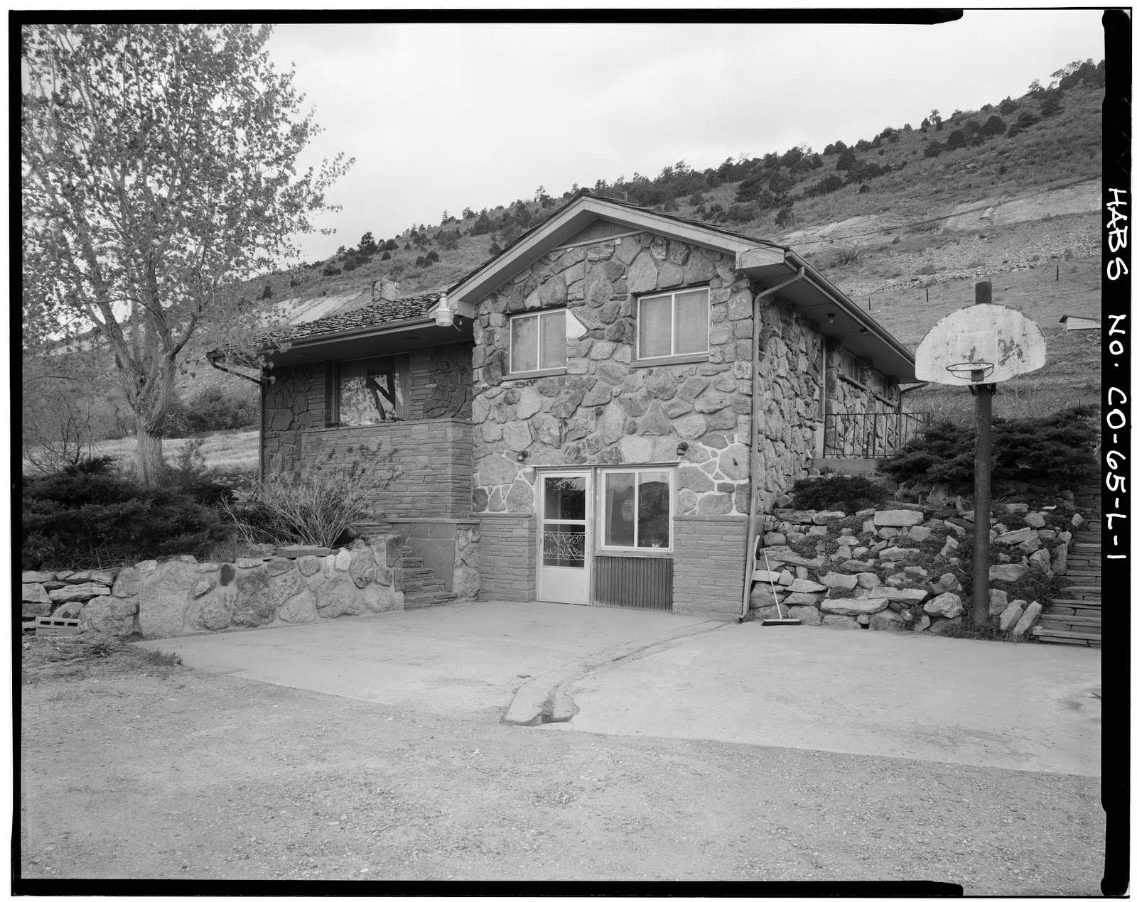 Rooney Ranch, Eileen Rooney House, Rooney Road & West Alamdea Parkway, Morrison, Jefferson County, CO
