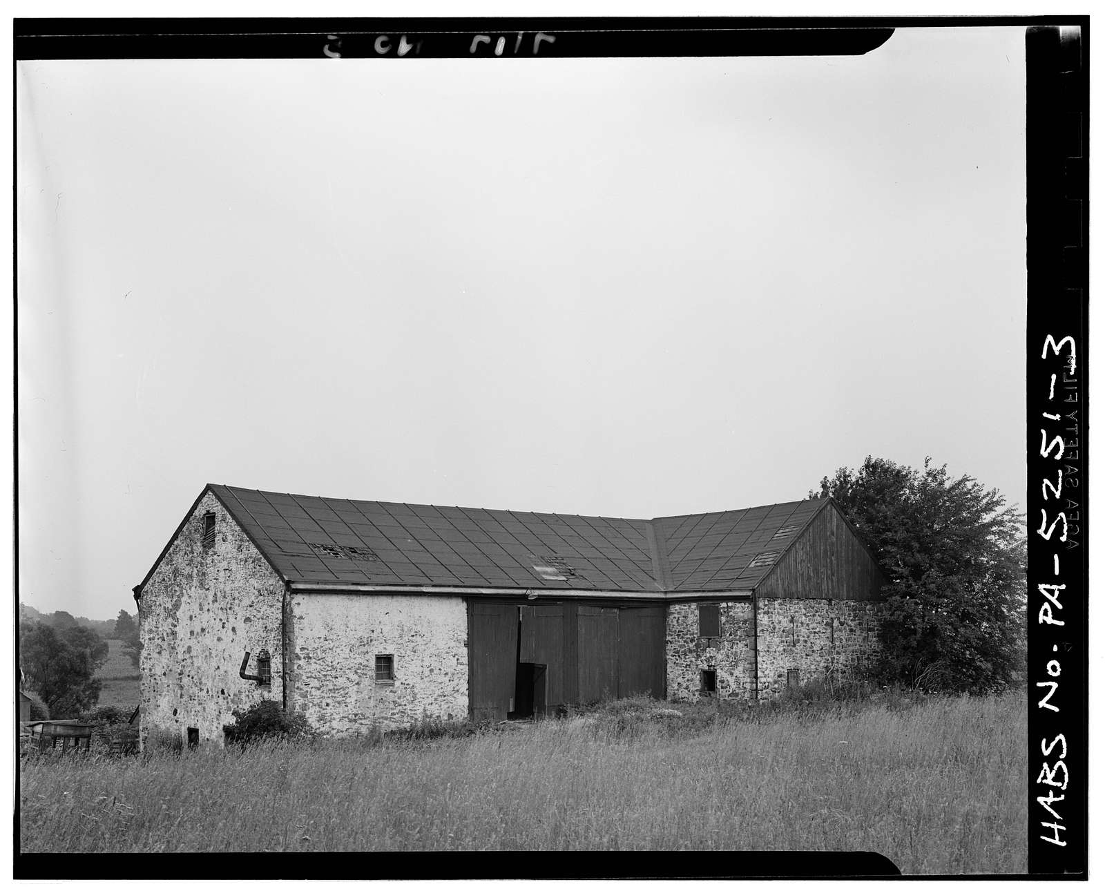 Stone Barn, State Route 23, Whitpain Township, Center Square, Montgomery County, PA