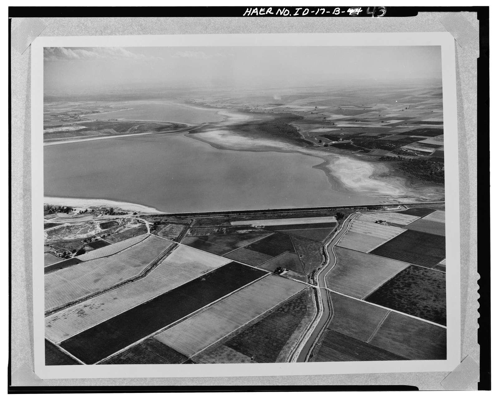 Boise Project, Deer Flat Embankments, Lake Lowell, Nampa, Canyon County, ID